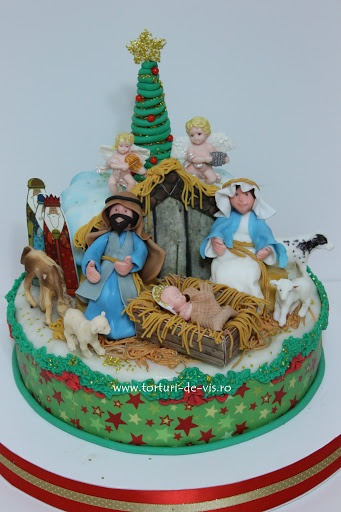 17 Best images about Nativity cakes, cupcakes and pops on ...
