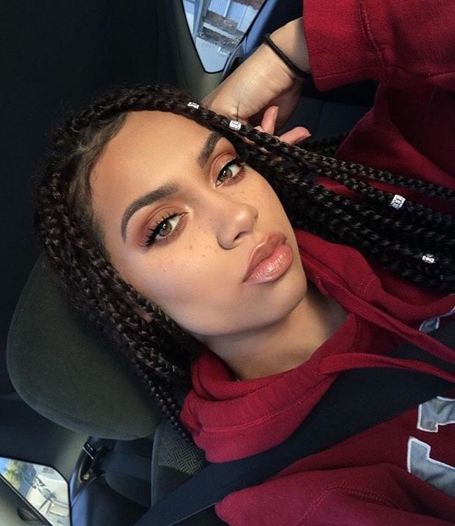 25 Best Ideas About Medium Box Braids On Pinterest