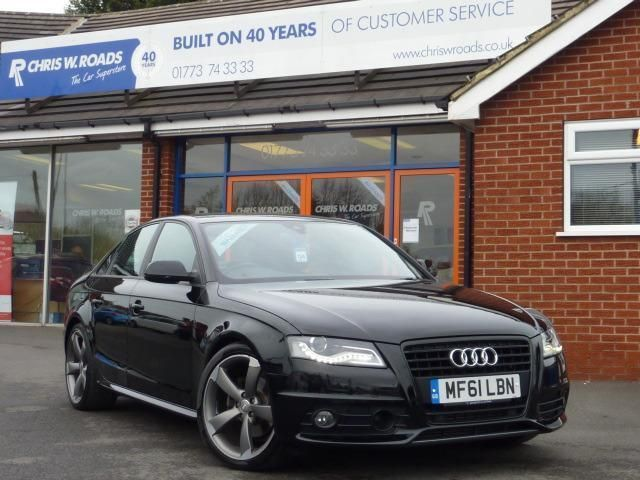2011 61 AUDI A4 2.0 TDI S LINE BLACK EDITION *SAT NAV ADAPTIVE CRUISE CONTROL* | in Ripley, Derbyshire | Gumtree