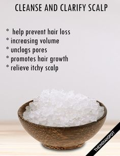 NATURALLY CLEANSE AND CLARIFY YOUR SCALP