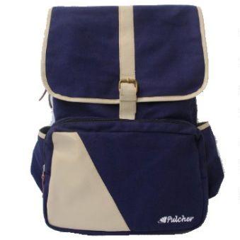 tas ransel vintage,,  pulcher bags - PREMIER Navy Rp. 199.000 // 085.7722.55000 - tasranselvintage.com