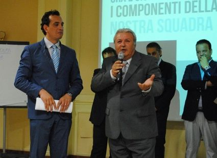 Giuseppe Giura con Wfranchisee W55
