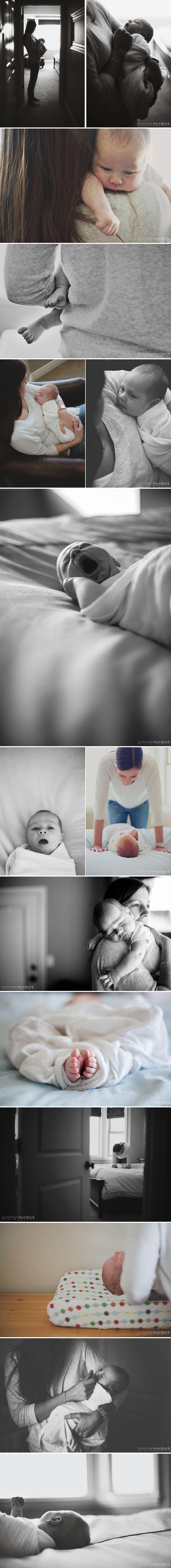 Newborn Lifestyle Photography | Summer Murdock Photography SLC Area Family Photographer