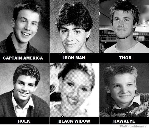 Avengers high school yearbook! :Dhaha