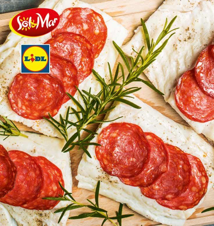 Dorsz z chorizo i rozmarynem. Kuchnia Lidla - Lidl Polska. #lidl #solandmar #chorizo #rozmaryn