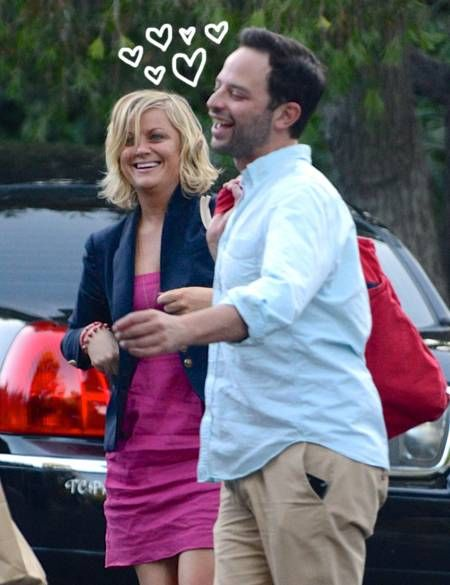 Amy Poehler and Nick Kroll