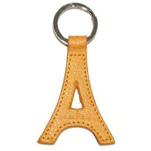 Porte-clefs Cuir Tour Eiffel