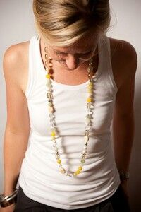 Mixed gems semiprecious strands
