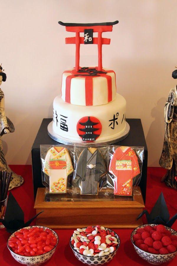 it party, itparty, fiesta japonesa, tarta japonesa