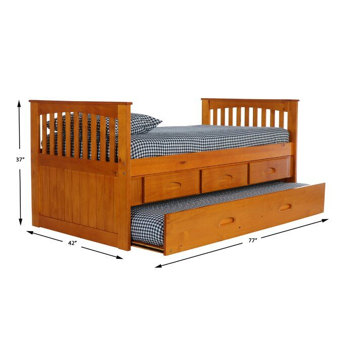 Trumble Twin Sleigh Bed With Drawers Twin Sleigh Bed Bed With