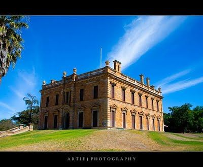 Martindale Hall, Mintaro, South Australia.... it was used as the girl's school in the film Picnic at Hanging Rock!