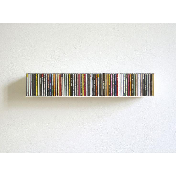 CD storage - Skandium Compact disc shelf B by Linea 1