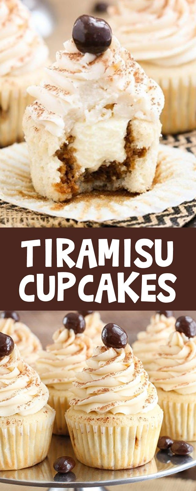 TIRAMISU CUPCAKES – House Recipes & Home Decor