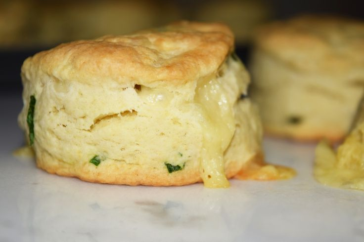Cheddar & Chives buttermilk biscuits