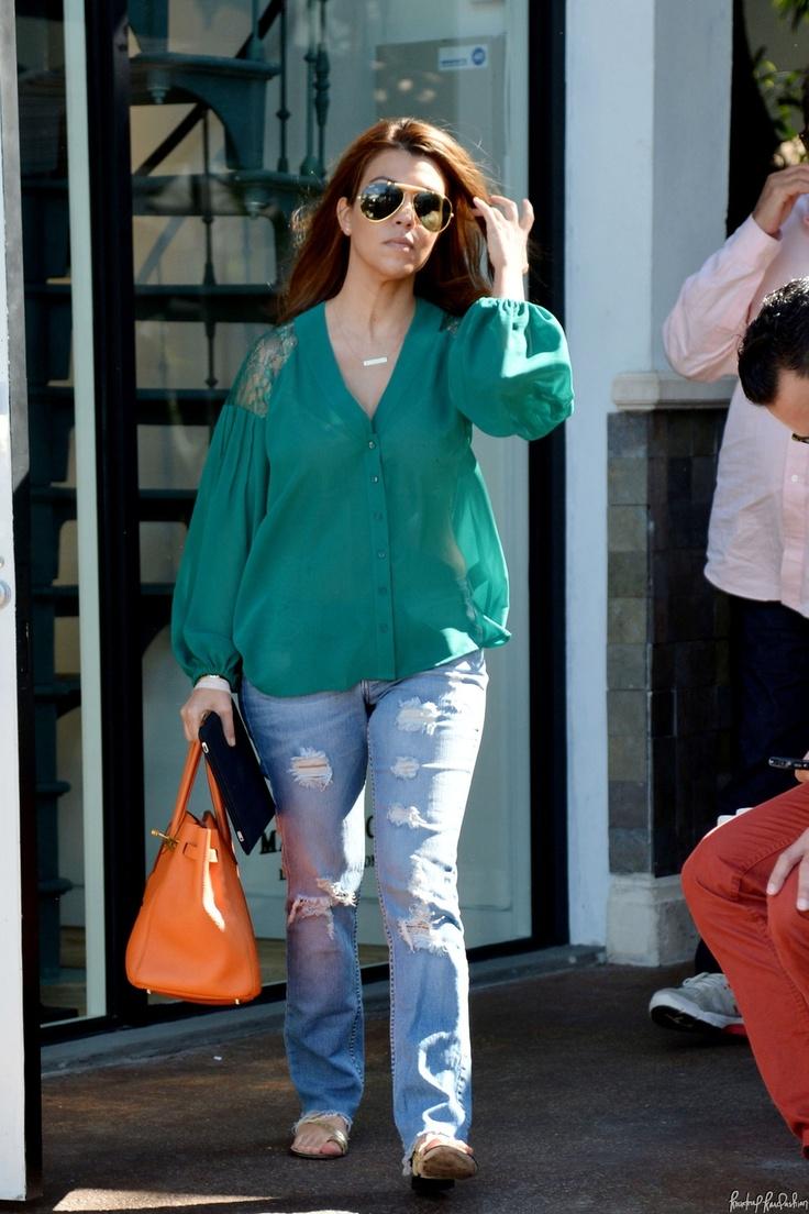 Kourtney Kardashian shops at Louis Vuitton with her boyfriend Scott Disick's mother Bonnie after lunch with his family in Miami | Kourtney Kardashian