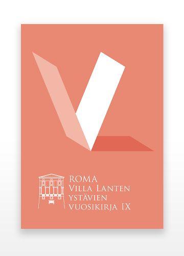Hahmo | Graphic Design | Villa Lante -vuosikirja X | Villa Lante Annual X