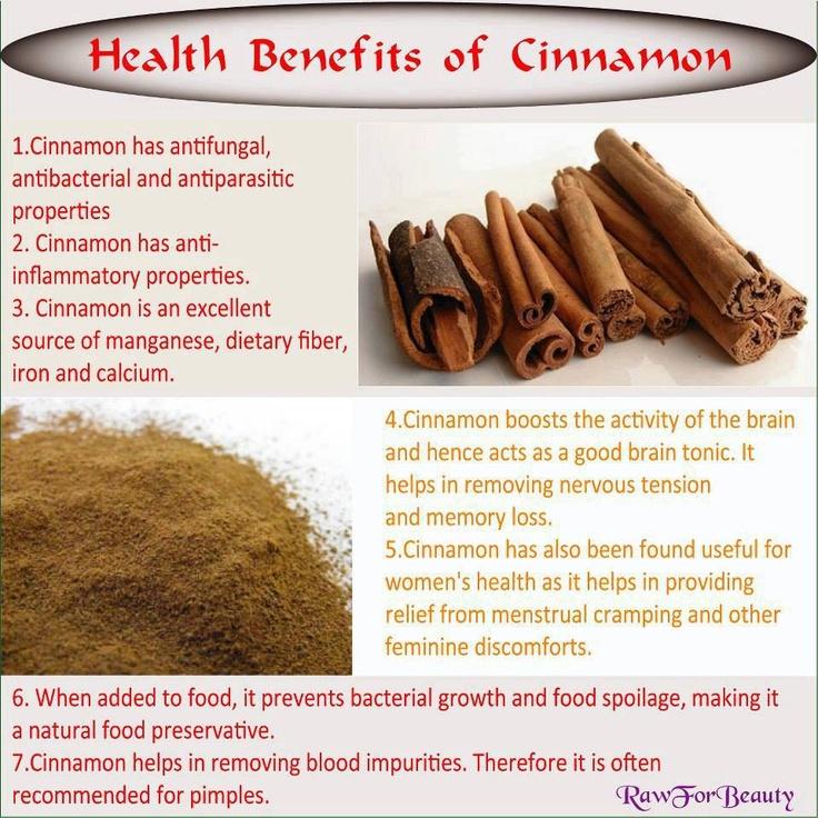 Cinnamon: Health Benefits
