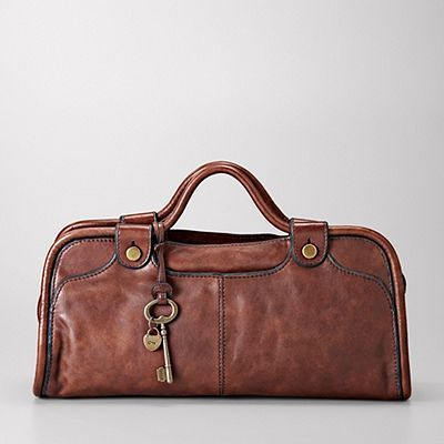 fossilWomen Handbags, Brown Bags, Black Leather, Clothing Bags Shoes Jewelry, Vintage Pipe, Pipe Satchel, Fossils Bags, Leather Bags, Fossils Handbags