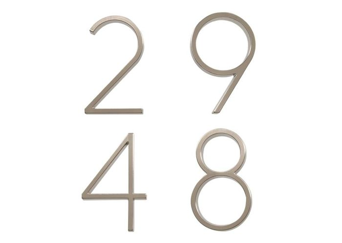House Numbers That Resemble Neutra, for $5.99 each