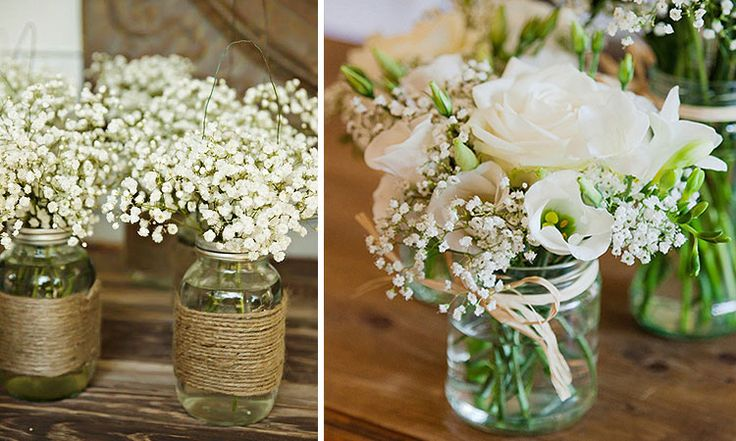 Decofilia Blog | Decoración de bodas: Arreglos florales para centros de mesa
