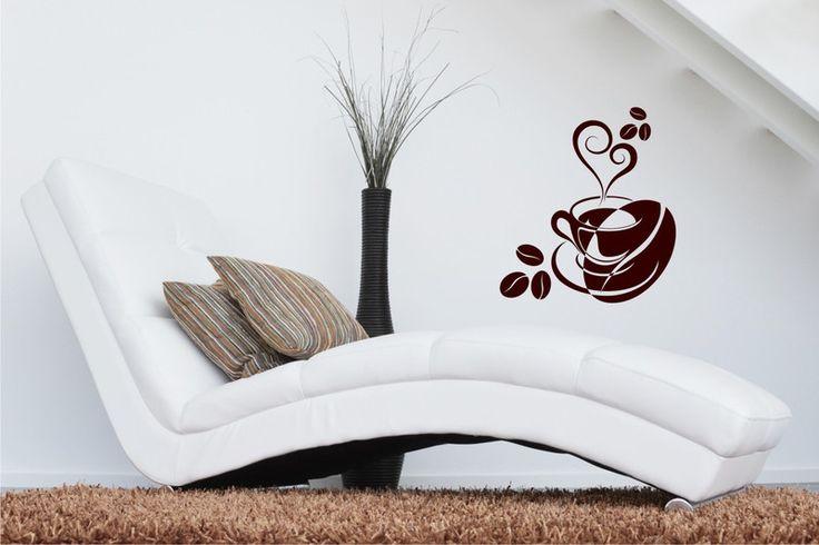 Kaffeetasse - Wandtattoo Küche von DOON Germany auf DaWanda.com