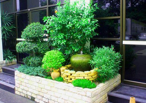 Large Container Garden Small Garden Ideas Pinterest