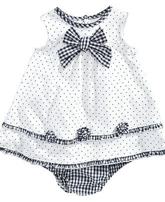 Little Me Baby Dress, Baby Girls Knit Dress with Bloomers - Kids Baby Girl (0-24 months) - Macy's