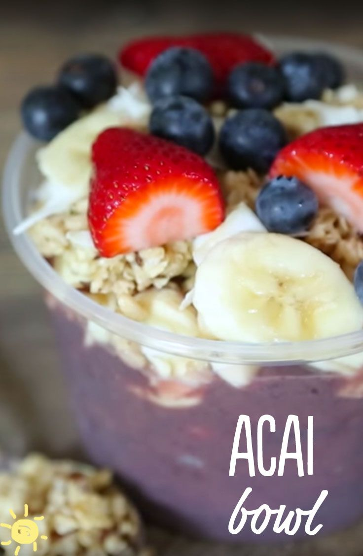 116 best delicious healthy recipies images on pinterest cooking eat acai bowl recipe healthy breakfast strawberries blueberries bananas forumfinder Choice Image