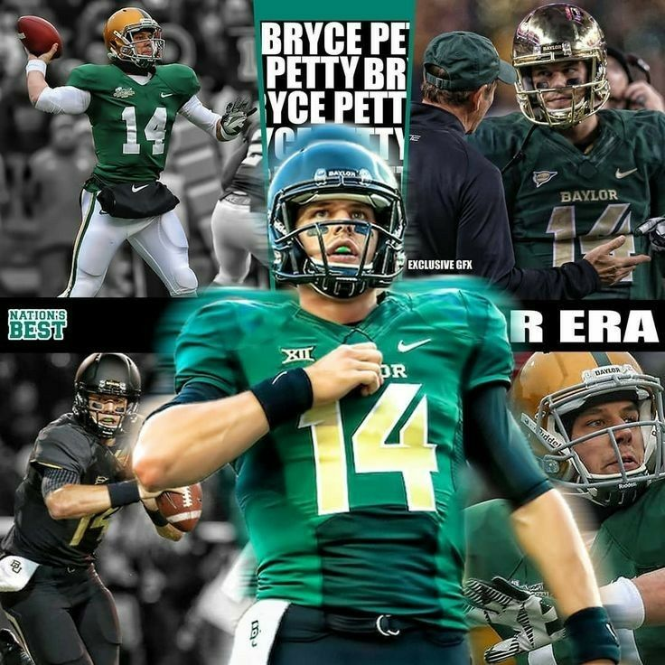 Bryce Petty Baylor In 2020 Baylor University Football College Football Players Ncaa Football