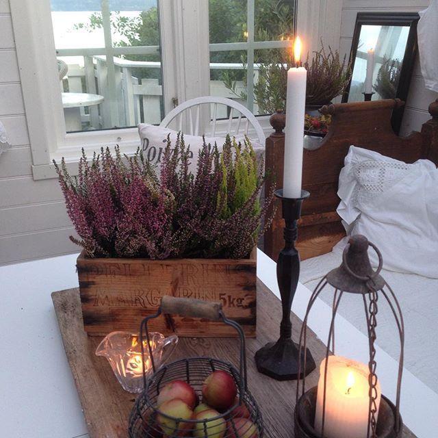 Shabby and Charme: Nordic Shabby Style- Pennellate d'autunno per una bella casa in Norvegia