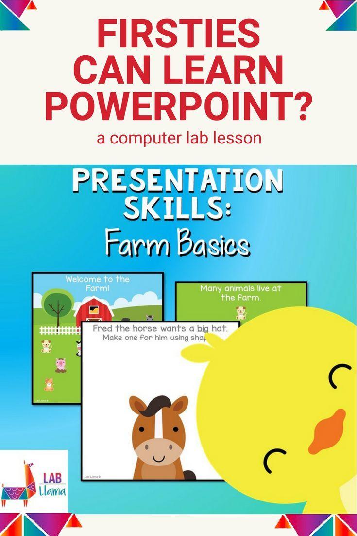 Presentation Skills: Farm Animal Activity | Public Speaking