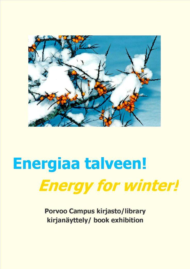 Energiaa talveen! -kirjanäyttely