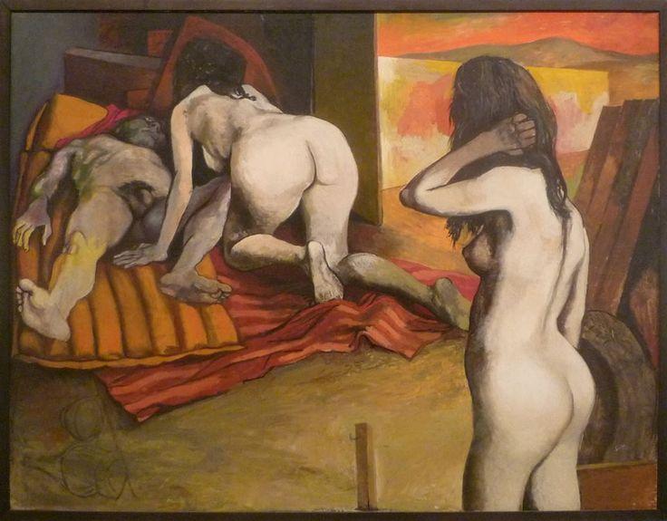 Renato Guttuso - Le figlie di Loth (Lot's Daughters, 1968)