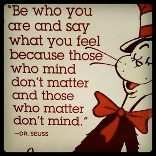 absolutely LOVE Dr. Seuss  @andrea coles
