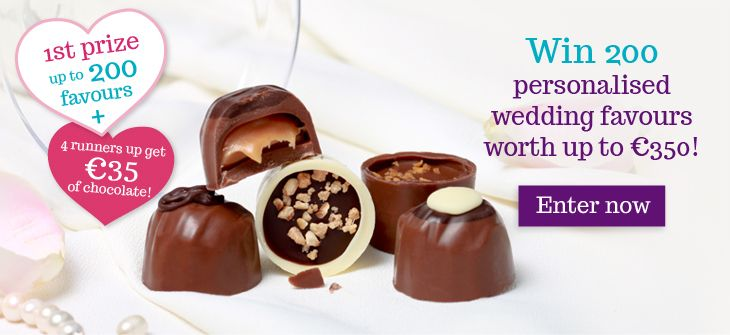 Competition Time!! Win Delicious Lily O'Brien's Personalised Wedding Favours worth up to €350 for your special day!! :)