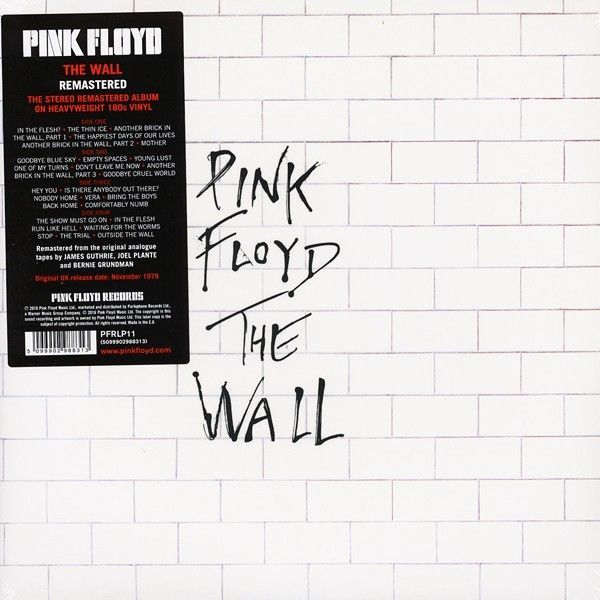 Details About Pink Floyd The Wall Latest Pressing Lp Vinyl