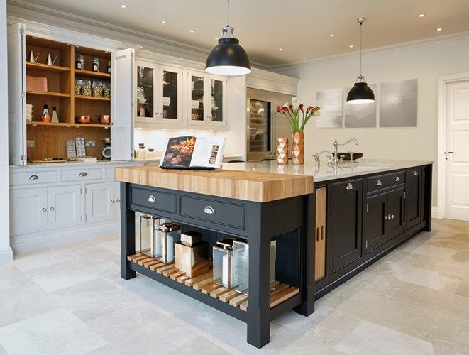 Stunning Black & Grey Painted Kitchen – Tom Howley