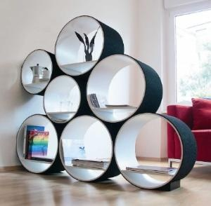 Contemporary Flexi Shelving This is such a good idea!