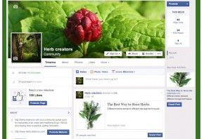 Visit herb creators facebook fanpage