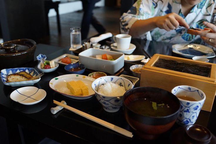 A typical breakfast spread at a ryokan    #yummy #sogood #eatingtrip #kaiseki #ryokan #懐石料理 #旅館 #べにや無何有 #beniyamukayu #relaischateaux #山代温泉 #加賀温泉 #kaga #kanazawa #japan #travel #traveldiariess_japan #wanderlust  #foodies #feedfeed #foodstagram #foodgram #gourmet #foodspotting #instagood #f52grams #breakfast #朝ご飯 by shusheny