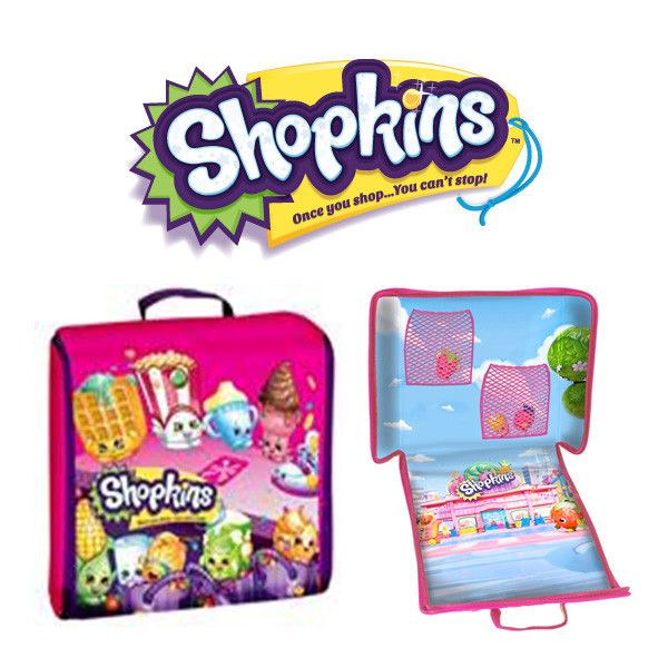 Shopkins Storage Case With Shopville Play Scene Avail Early April
