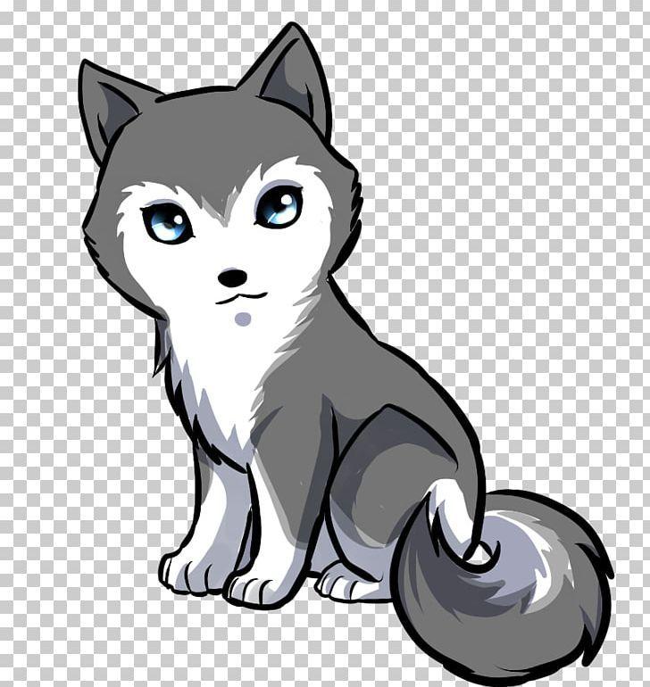 Siberian Husky Puppy Anime Drawing Cuteness Png Animals Animeland Carnivoran Cartoon Cat Like Husky Puppy White Siberian Husky Puppy White Siberian Husky