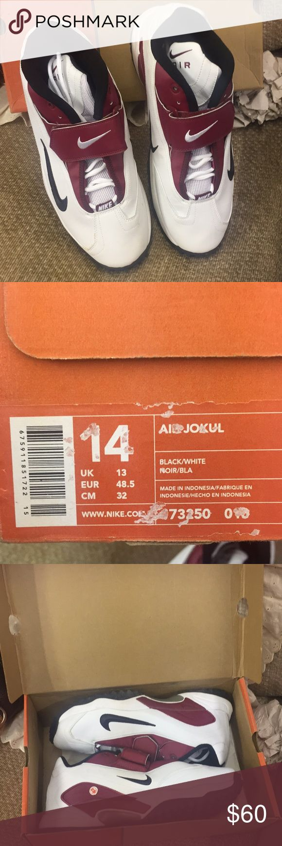 NIKE AIR JOKUL Turf shoes size 14 Brand new in box. Baseball softball turf shoes. Size 14 Nike Shoes