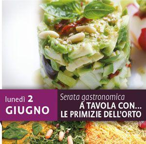Serata gastronomica:a tavola con le prelibatezze dell'orto
