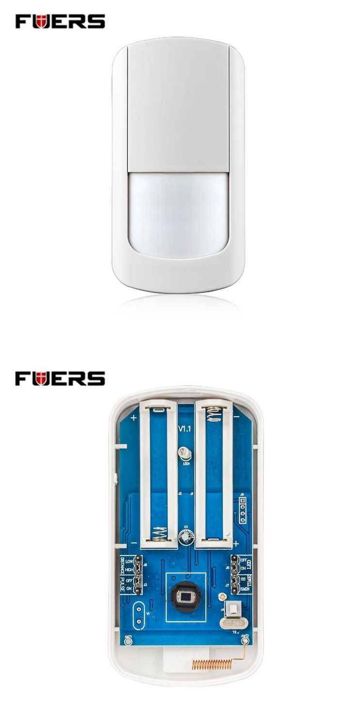 [Visit to Buy] Fuers 433Mhz Wireless PIR Sensor Motion Detector For Wireless Wifi Home Security Alarm Systems G90B no battery #Advertisement