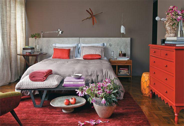 41 quartos de casal com decoração neutra - Casa.com.br- adorei