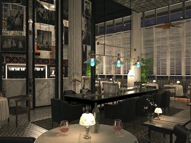 Restaurant Robert Marchetti The Plantation Grill and Sling Bar at Double-Six Luxury Hotel Bali