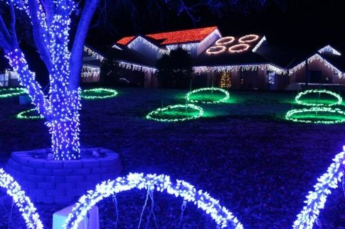 The Downs Family #Christmas Lights display will be featured on ...