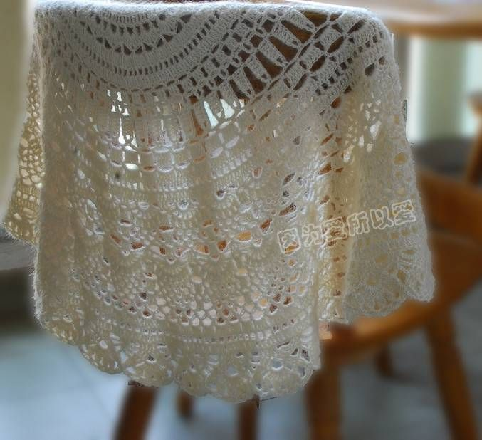 rings crochet shawl patterns crochet crafts ponchos crochet pattern ...