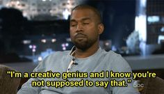 Kanye West — I'm a createive genius animation